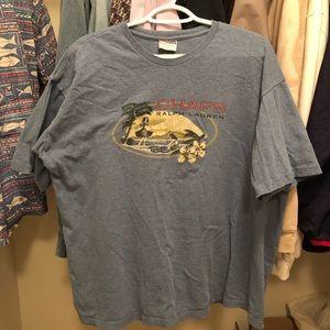 Chaps Ralph Lauren Hawaiian T Shirt. Size L